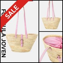 formula JOVEN Street Style Straw Bags
