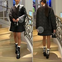 Christian Dior Casual Style Plain Oversized Elegant Style Formal Style