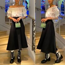 Christian Dior Casual Style Elegant Style Off the Shoulder