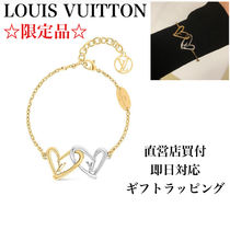 Louis Vuitton Costume Jewelry Casual Style Initial Chain Party Style