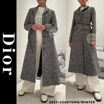 Christian Dior Casual Style Long Elegant Style Formal Style  Coats