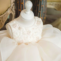 With Jewels Glitter Party Bridal Kids Girl Dresses