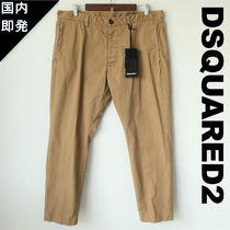 D SQUARED2 Tapered Pants Cotton Tapered Pants