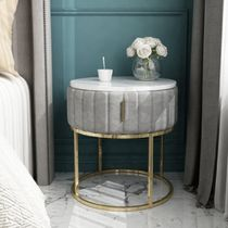 Gold Furniture Night Stands Vervet Furniture Table & Chair