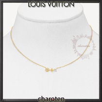 Louis Vuitton Costume Jewelry Casual Style Flower Chain Party Style