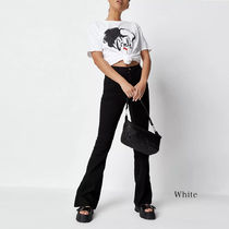 Missguided Crew Neck Short Sleeves Loungewear T-Shirts