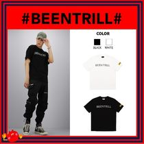 BEEN TRILL Unisex Street Style Plain Cotton Short Sleeves T-Shirts