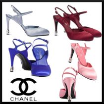 CHANEL Plain Party Style Elegant Style Formal Style