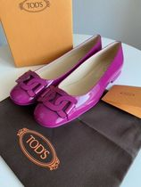 TOD'S Leather Ballet Shoes