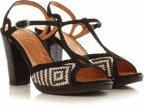 CHIE MIHARA Leather Heeled Sandals