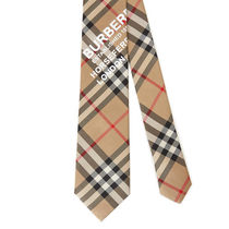 Burberry Other Plaid Patterns Street Style Logo Ties