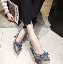 Bi-color Pin Heels Party Style Elegant Style