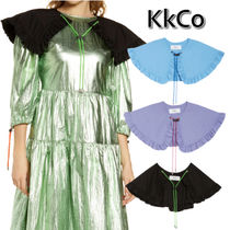 KkCo Casual Style Plain Cotton Party Style Collars
