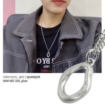 QUARQOR Casual Style Street Style Office Style Necklaces & Pendants