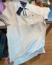 Tommy Hilfiger Casual Style Street Style Plain Cotton Logo Polos