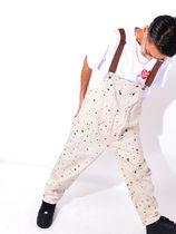Cookman Unisex Street Style Cotton Overalls & Coveralls