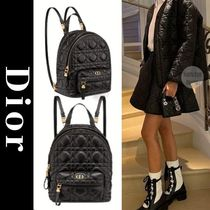 Christian Dior Casual Style Lambskin Leather Elegant Style Formal Style