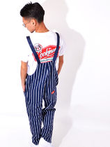Cookman Stripes Unisex Street Style Overalls & Coveralls
