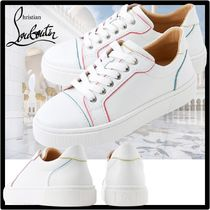 Christian Louboutin Casual Style Street Style Logo Low-Top Sneakers