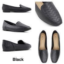 Call It Spring Square Toe Rubber Sole Casual Style Faux Fur Plain