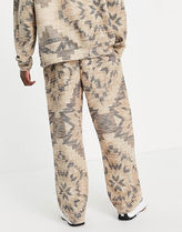 JADED LONDON Printed Pants Street Style Plain Cotton Overalls & Coveralls