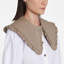 Ganni Casual Style Plain Leather Party Style Office Style