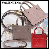 VALENTINO Casual Style Street Style Shoulder Bags