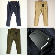 D SQUARED2 Tapered Pants Plain Cotton Chinos