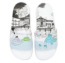 adidas ADILETTE Faux Fur Collaboration Other Animal Patterns Sport Sandals