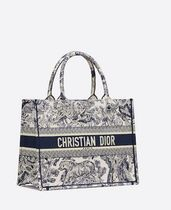 Christian Dior BOOK TOTE Casual Style Elegant Style Totes