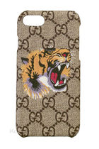 GUCCI Unisex Other Animal Patterns iPhone 8 Logo Smart Phone Cases