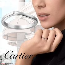 Cartier Costume Jewelry Casual Style Unisex Party Style Platinum
