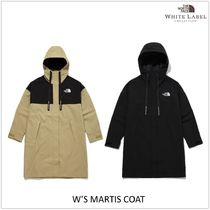 THE NORTH FACE WHITE LABEL Street Style Plain Logo Coats