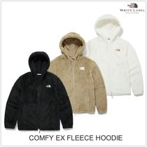THE NORTH FACE WHITE LABEL Unisex Street Style Plain Shearling Logo Jackets