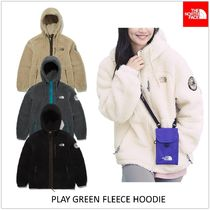 THE NORTH FACE PLAY GREEN Unisex Logo Jackets