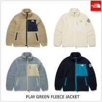 THE NORTH FACE Unisex Shearling Logo Jackets