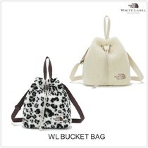 THE NORTH FACE WHITE LABEL Street Style Plain Logo Totes