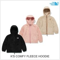 THE NORTH FACE Unisex Street Style Shearling Kids Girl Outerwear