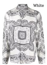 ETRO Paisley Silk Long Sleeves Front Button Luxury Shirts