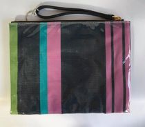 MARNI MARNI MARKET Stripes Casual Style Leather PVC Clothing Clutches
