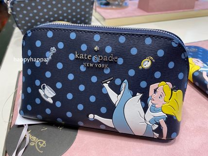 kate spade new york Pouches & Cosmetic Bags Dots PVC Clothing Pouches & Cosmetic Bags