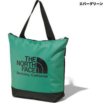 THE NORTH FACE Camouflage Unisex A4 Plain Logo Reusable Bags