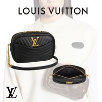 Louis Vuitton MONOGRAM Casual Style Unisex Leather Crossbody Formal Style