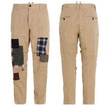 D SQUARED2 Street Style Cotton Logo Chinos