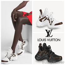 Louis Vuitton Monogram Casual Style Street Style Leather Party Style Logo