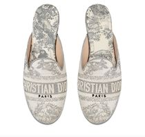 Christian Dior Casual Style Party Style Elegant Style Logo Sandals