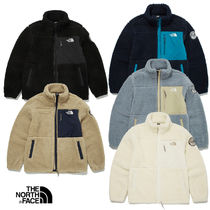 THE NORTH FACE RIMO Unisex Street Style Shearling Logo Jackets