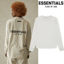 FEAR OF GOD ESSENTIALS Unisex Street Style Long Sleeves Cotton Oversized