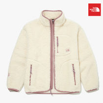 THE NORTH FACE RIMO Unisex Street Style Shearling Logo Outerwear