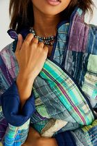 Free People Other Plaid Patterns Casual Style Jackets